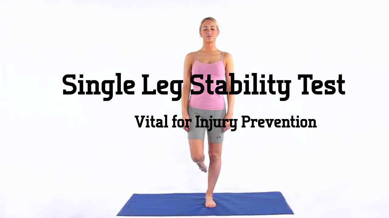Single Leg Stability Test
