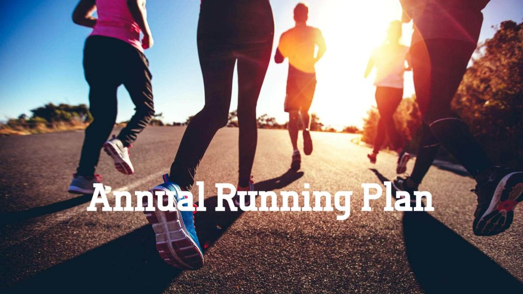 Create an Annual Running Plan to maximise your results