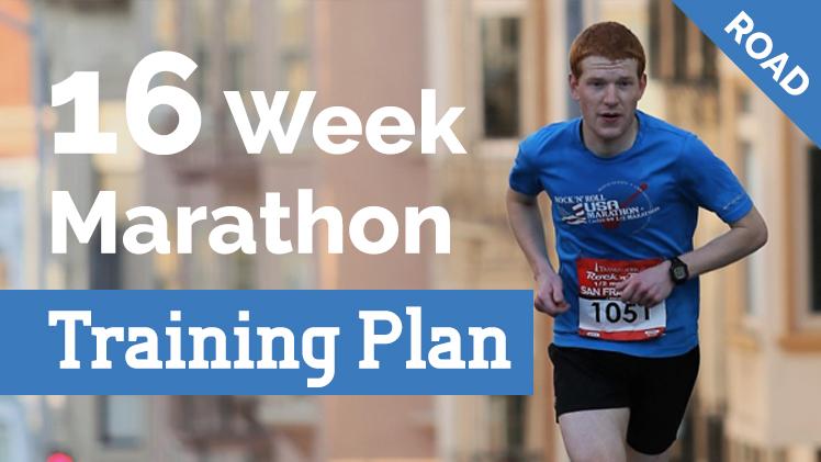 16 Week Marathon Plan