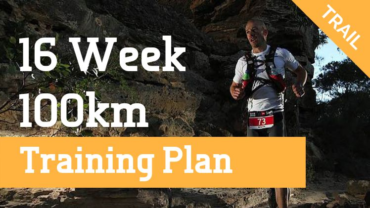 100km 16-week training plan for trails