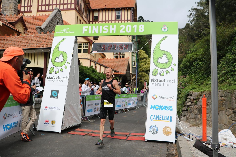 Six Foot Track Finish line 2019