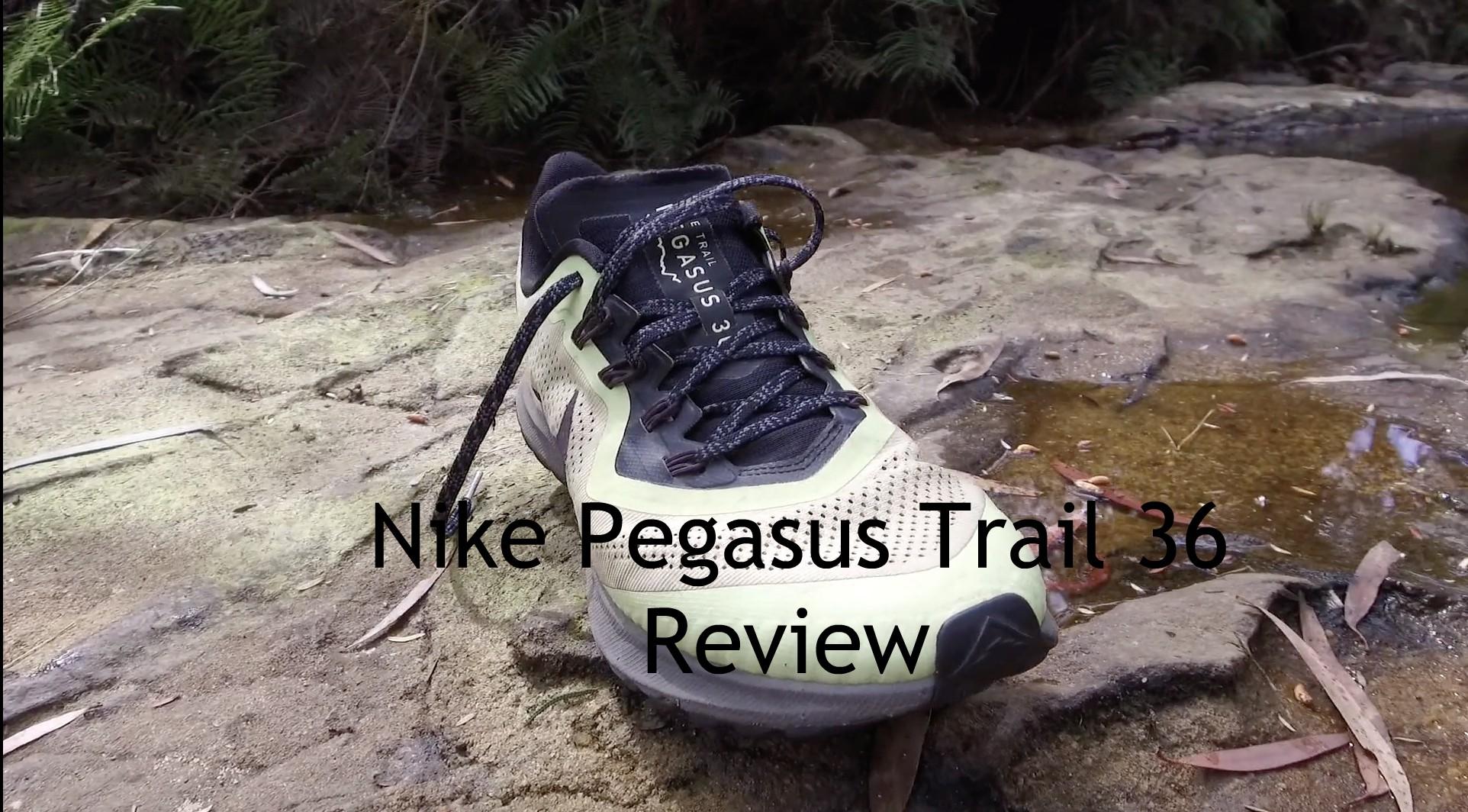 Nike Pegasus 36 Trail - Review