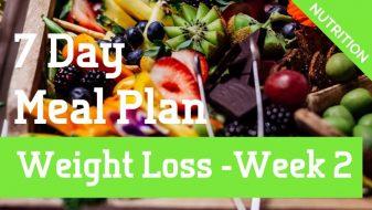 Weight Loss Meal Plan Week 2
