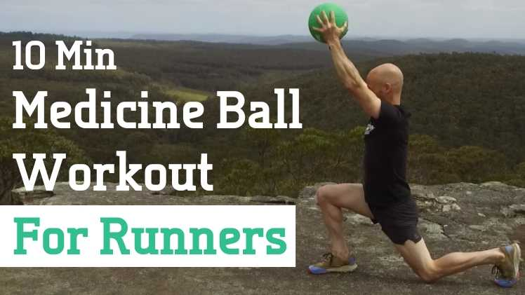 10 min Medicine Ball Workout Website