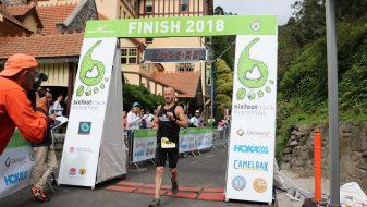 Six Foot Track Marathon training
