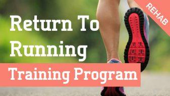 Return to running in 10 weeks